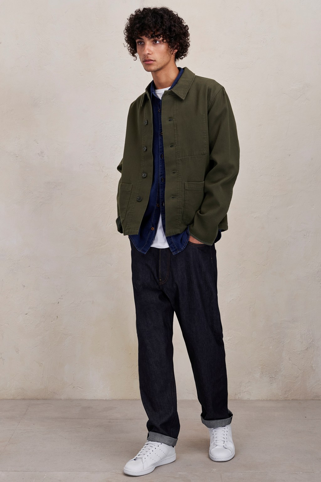 Men's Fashion - Slouchy Shapes