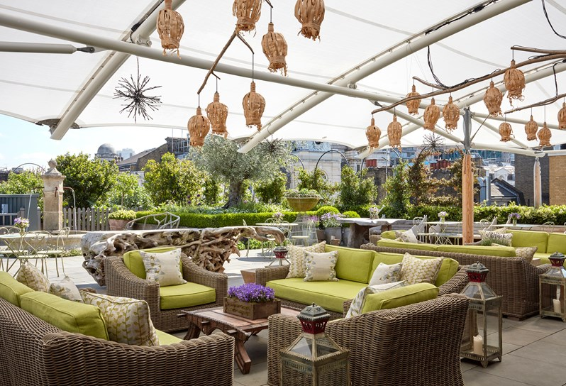 Roof Terrace Summer Sessions – Ham Yard Hotel