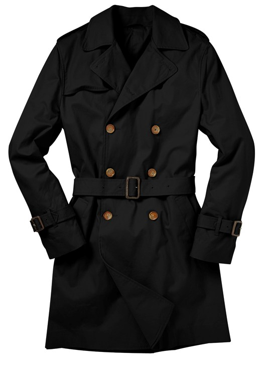 Basic Storm Trench Coat
