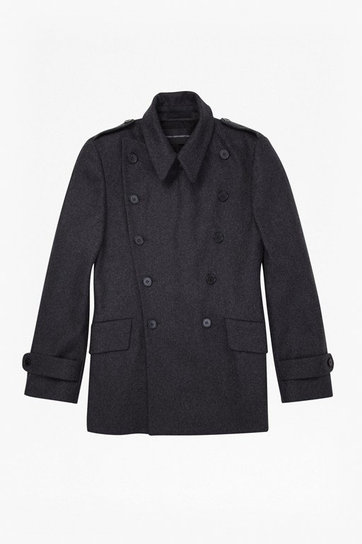 Complete the Look Restrain Military Coat