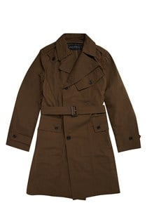 Action Cotton Trench Coat