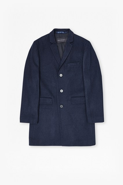 Melton Wool Tailored Coat