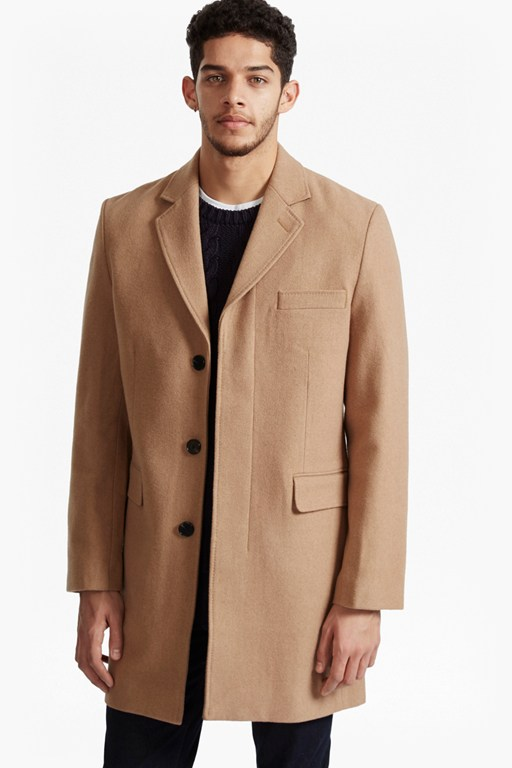 Marine Melton Tailored Coat