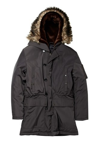 Bullet Snorkel Hooded Coat