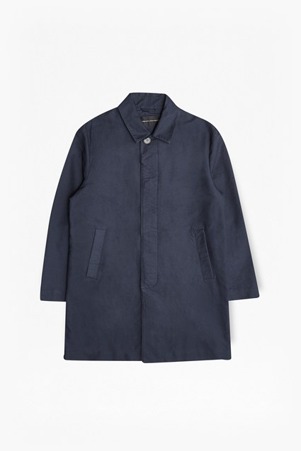 Coated Cotton Rain Mac