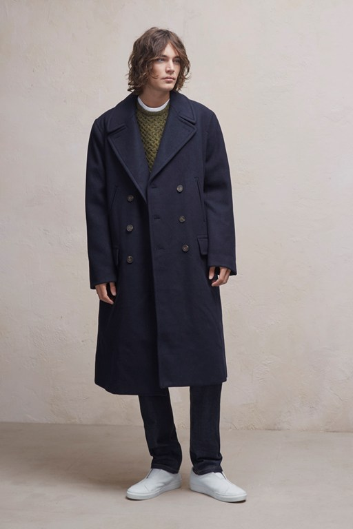 cabafeltro wool melton long coat