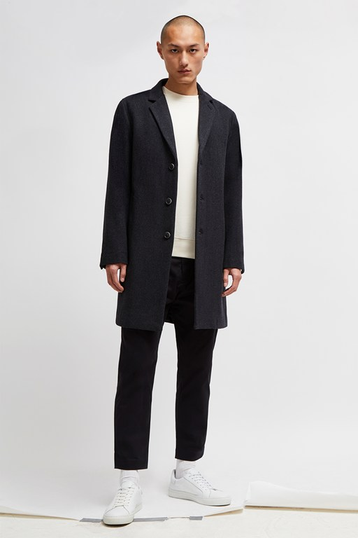 Complete the Look Melton Overcoat