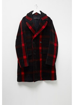 Oversized Check Coat