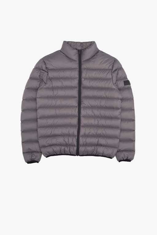row funnel lightweight jacket