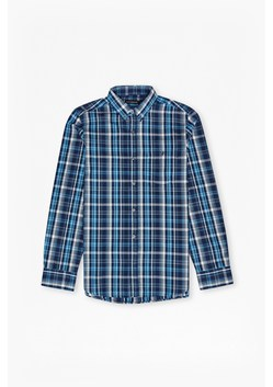 Checked Washed Cotton Shirt