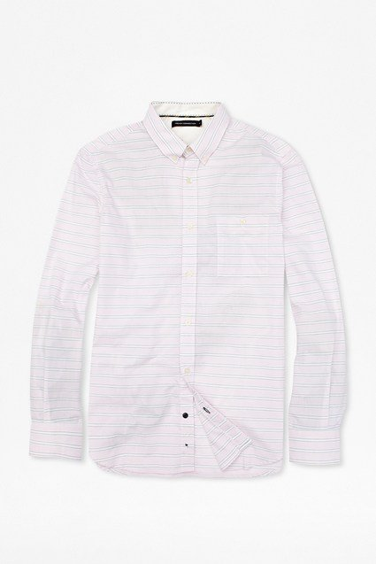 Harper Adams Horizontal Stripes Shirt