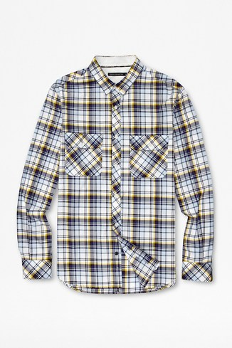 Thames Valley Checked Twill Shirt