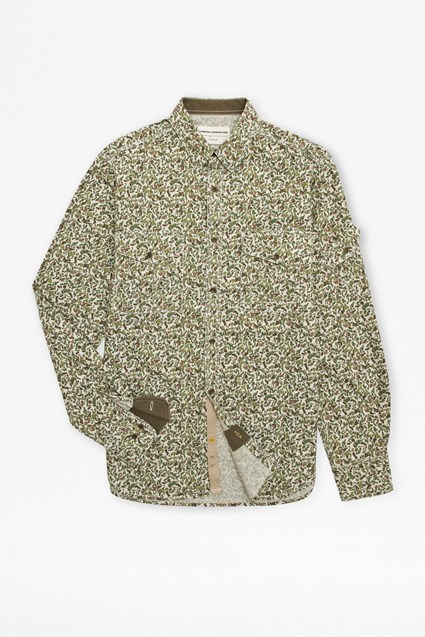 Camouflage Oxford Shirt