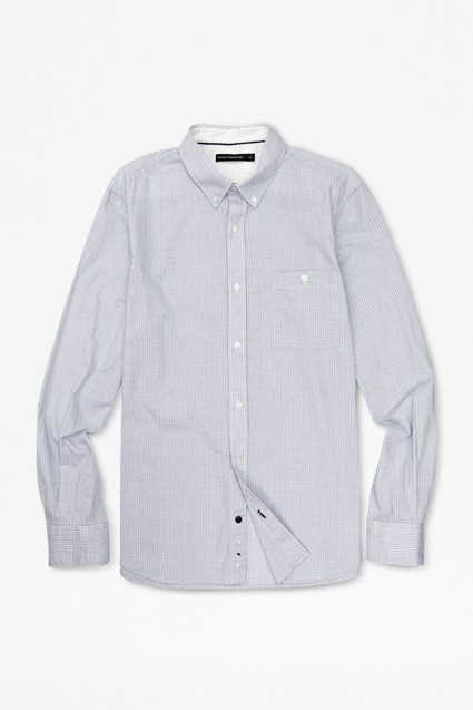 University Fine Checked Lifeline Shirt