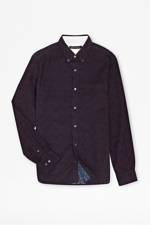 Dasher Print Corduroy Shirt