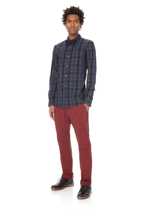 Macleod Check Shrit