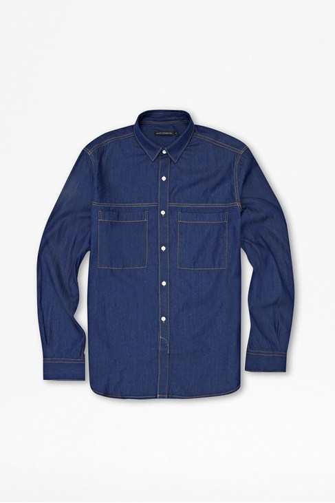David Denim Shirt