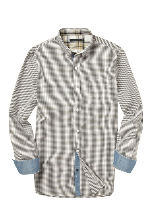 Wax Job Gingham Shirt
