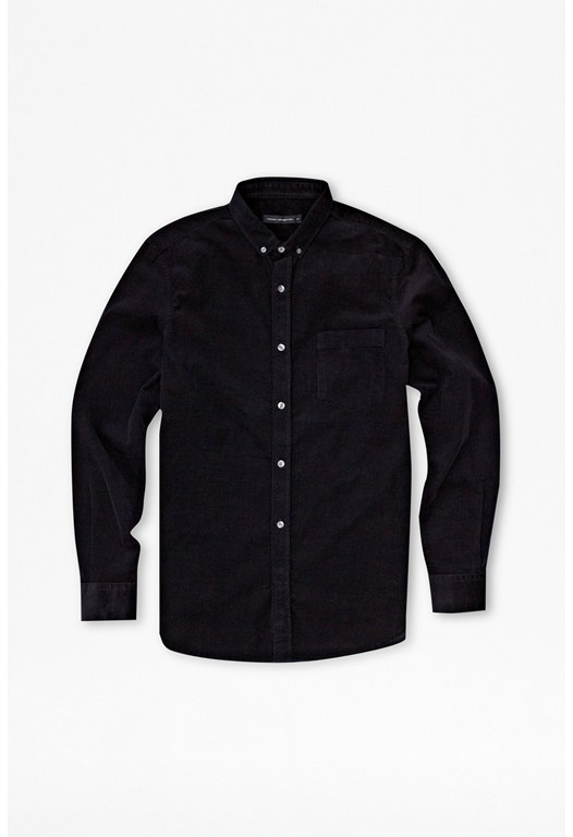 Cord Button-Down Shirt