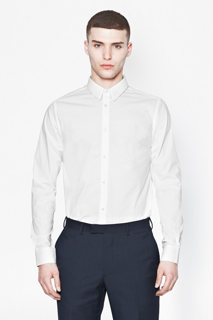 Formal Stretch Cotton Shirt