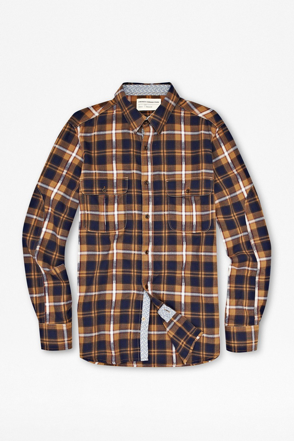 Mad for plaid. Denim & Co. brings this classic plaid button-up shirt in a brushed cotton fabric that is not only warm and soft, but breathable and comfortable too/5.