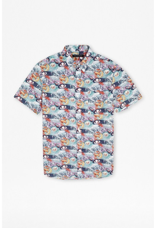 Space Gaze Cotton Shirt