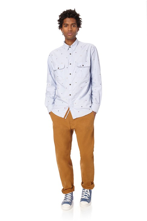 8 Bit Oxford Shirt