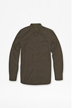Looks Great With Chain Lock Corduroy Shirt