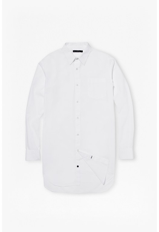 Reverse Poplin Cotton Shirt