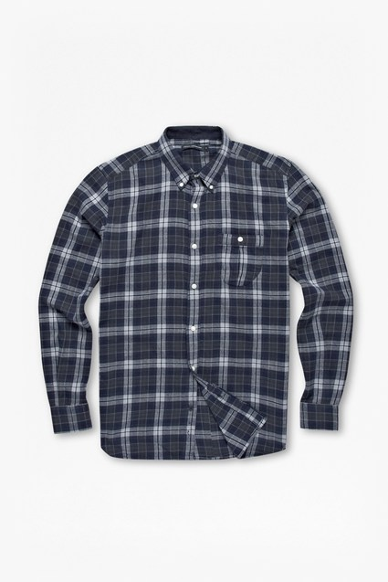 Multi Check Plaid Shirt