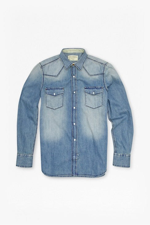 Heavy Denim Shirt