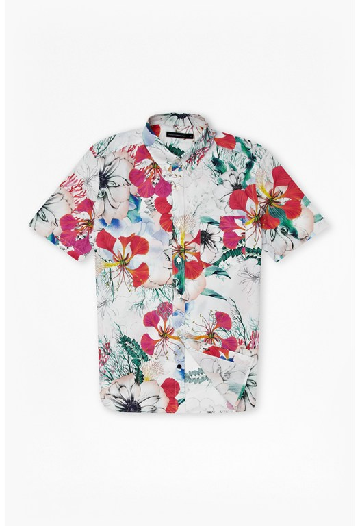Floral Reef Short Sleeve Shirt