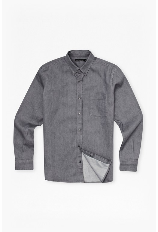 Aragon Denim Pocket Shirt