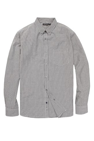 Summer Gingham Long Sleeved Shirt