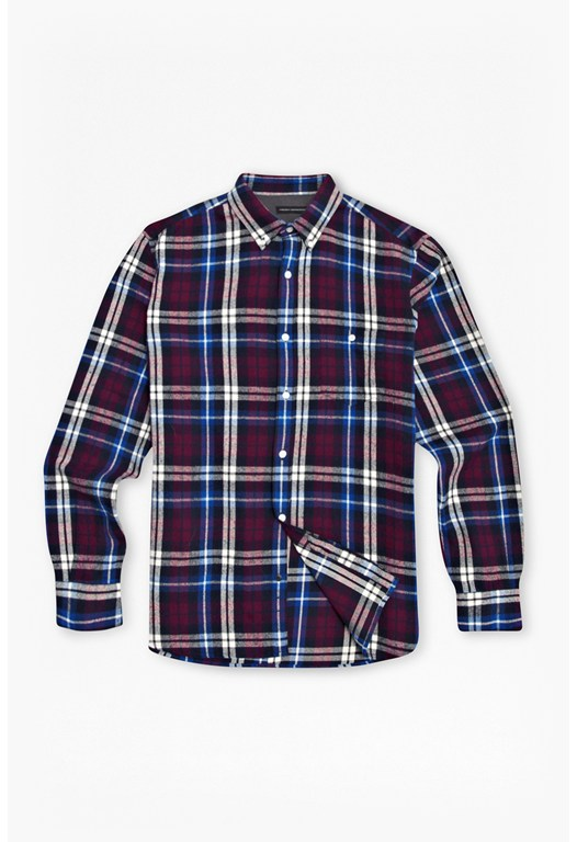 Keagan Checked Flannel Shirt