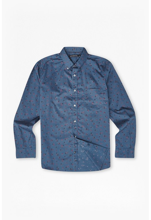 Big Sur Floral Printed Shirt