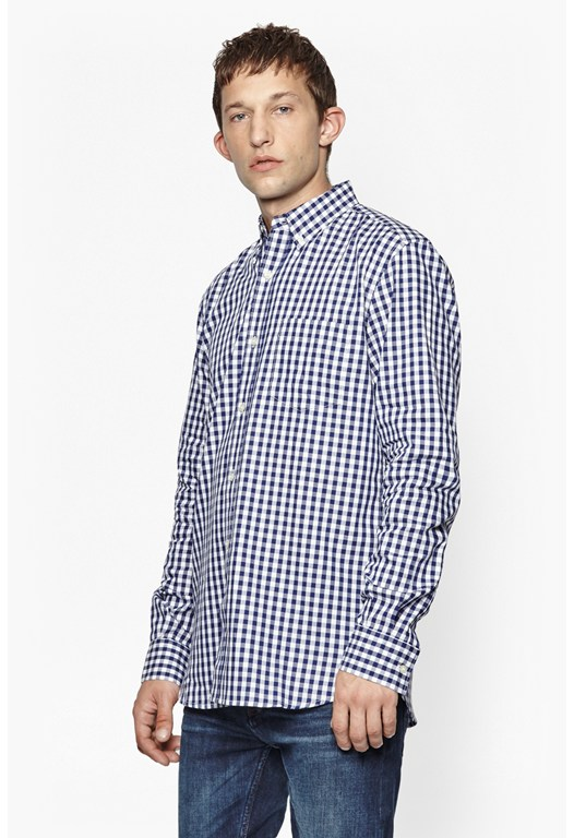 Gingham Printed Shirt
