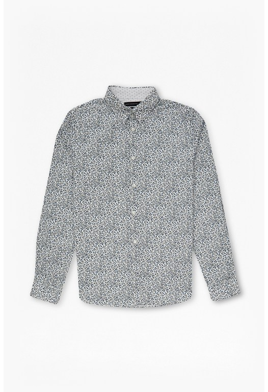 Hawthorn Hidden Contrast Slim Shirt