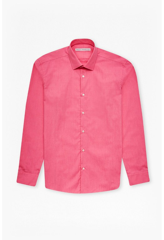 MB Hot Pink Chambray Shirt