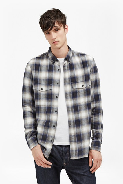 Orbison Ombre Check Shirt