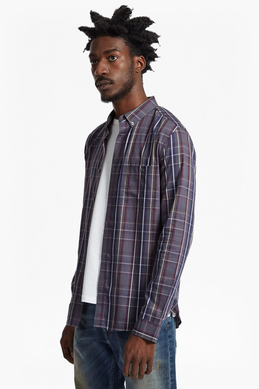 Complete the Look Lifeline Tartan Slim Fit Shirt