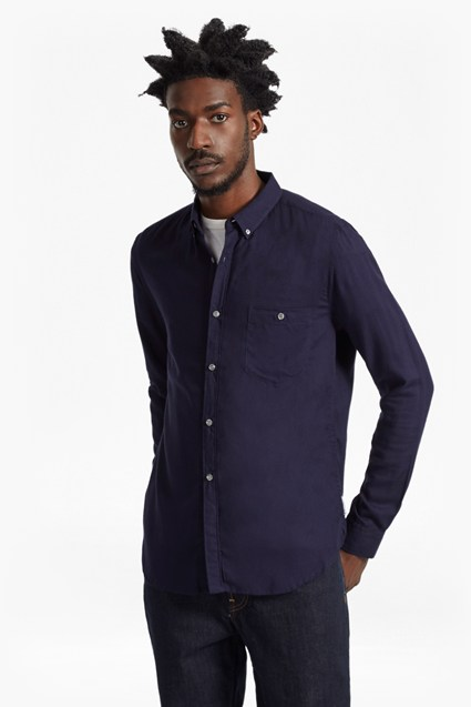 Rayon Shirting Slim Fit Shirt