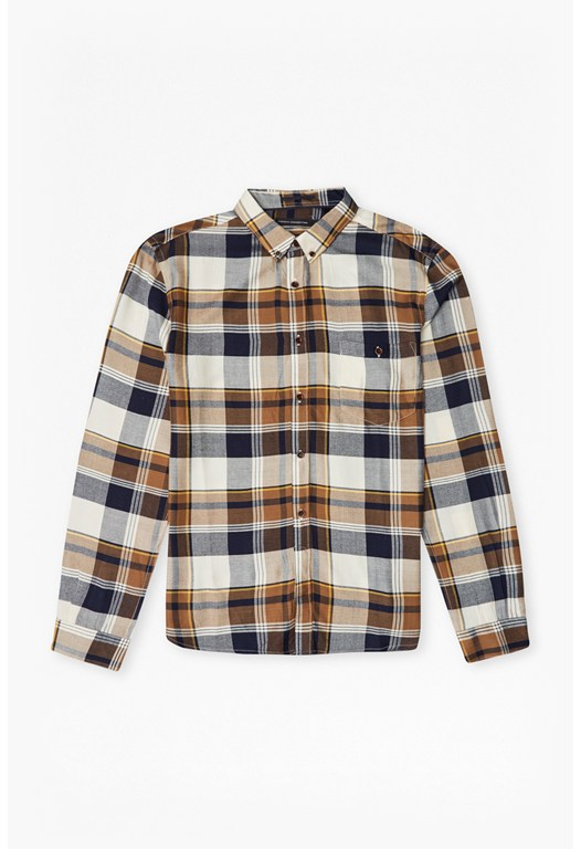 Rayon Shirting Check Shirt