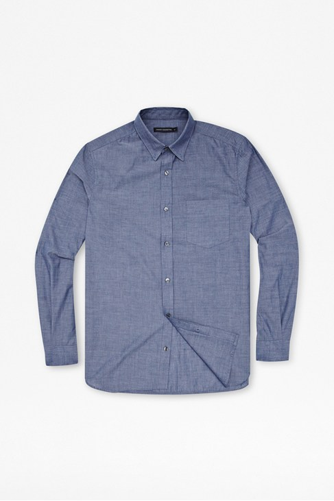 Chambray Cotton Shirt