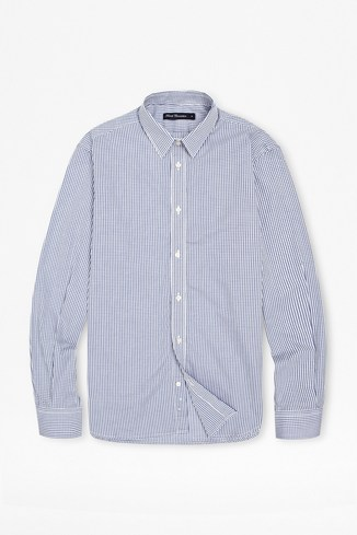 Formal Shadow Gingham Shirt