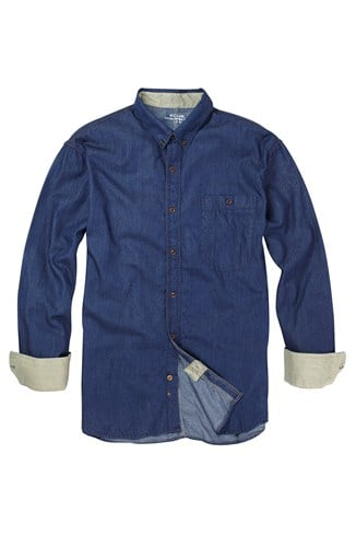 Cotton Shirt Blue