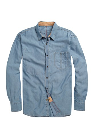 Chip Indigo Oxford Shirt