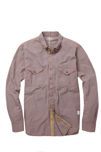 Backcut Indigo Shirt