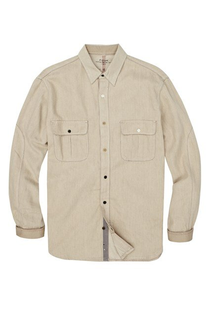 Santana Bleached Denim Shirt