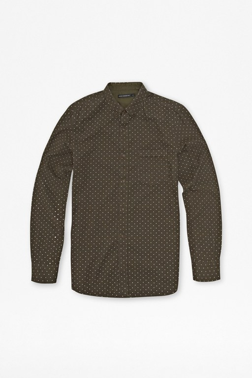 Complete the Look Chain Lock Corduroy Shirt